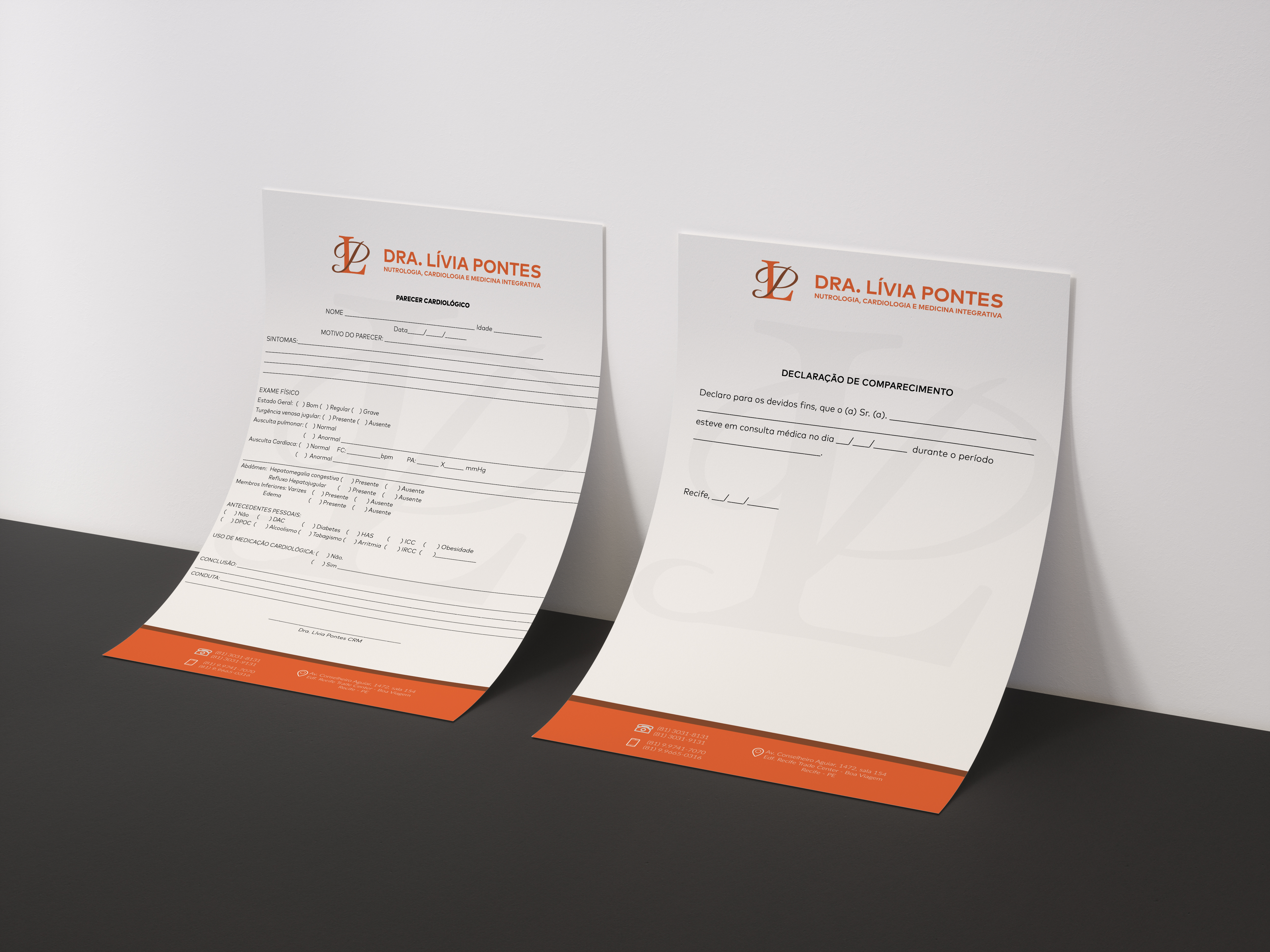Double Sided 4x6 Inch Flyer Mockup by Anthony Boyd Graphics